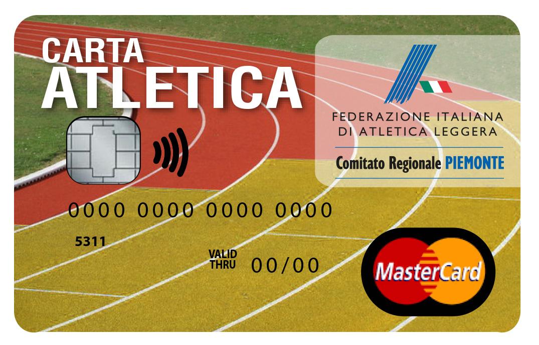 Carta Atletica Piemonte per Società