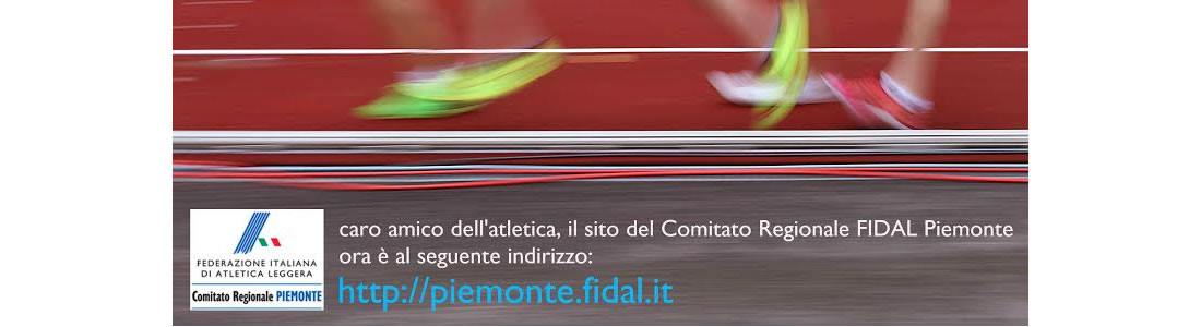 Fidal It Calendario.Fidal Piemonte